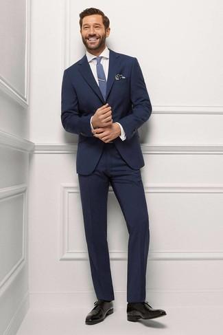 1c94992437 Quale cravatta indossare con un abito blu scuro (321 foto) | Moda ...