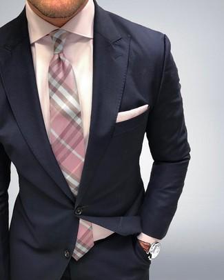 abito-blu-scuro-camicia-elegante-rosa-cr