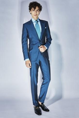 Indossare Uomo Una Lookastic FotoModa Cravatta Come Acqua47 PymNw8n0vO