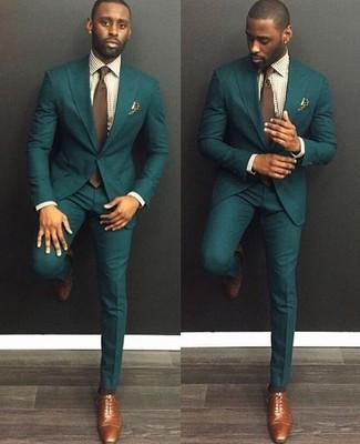 new product 75ef3 0c112 Look alla moda per uomo: Abito verde scuro, Camicia elegante ...