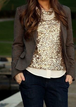 Camicia beige di Silvian Heach