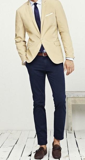 uomo 391 indossare Moda foto una Come giacca chiaro marrone 7OBqfw