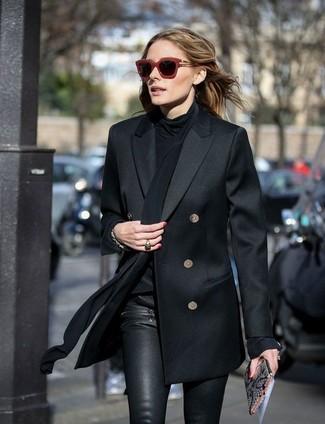 Come indossare  blazer doppiopetto nero ab206ffdc5f