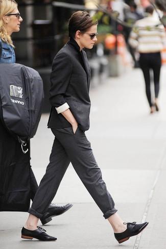 Blazer Blazer Pantaloni Nero Pantaloni Nero Donna Grigi Nero Grigi Grigi Blazer Pantaloni Donna gb76vYfy