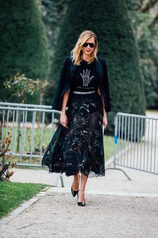 Moda donna › Moda donna anni 20 Look di Karlie Kloss  Blazer nero 7d7a9f54351