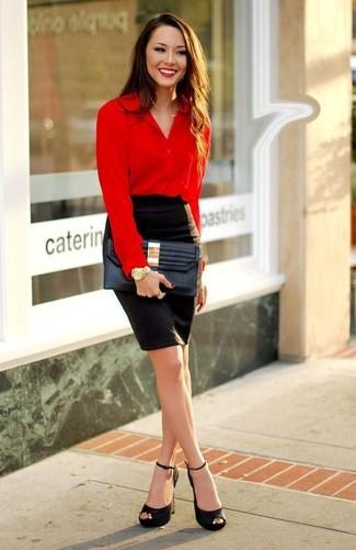 Camicetta rossa di Vero Moda
