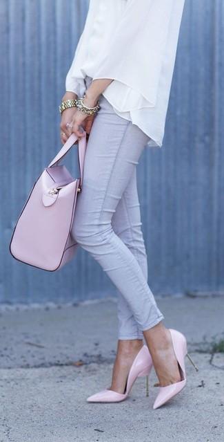 Borsa shopping in pelle rosa di MICHAEL Michael Kors