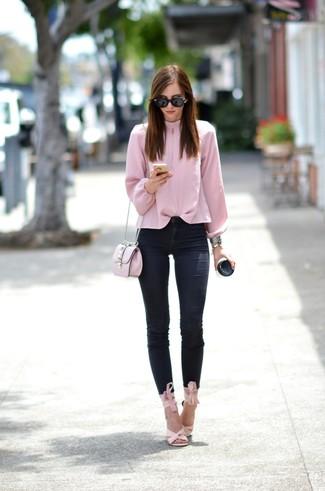Camicetta rosa di Only