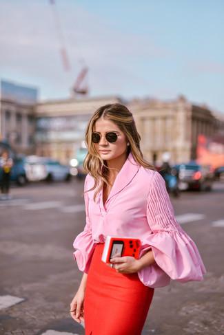 Camicetta rosa di Tom Tailor
