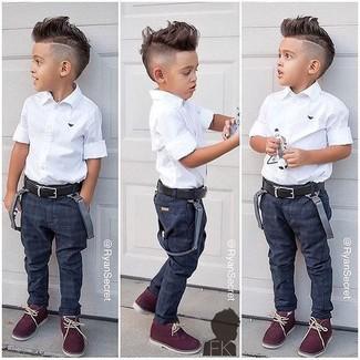 Jeans blu scuro di Armani Junior