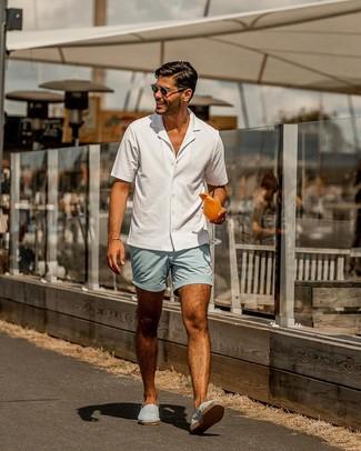 Come indossare e abbinare scarpe azzurre (56 outfit