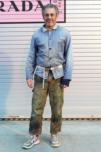detailed look 91d0f e90cf Come indossare e abbinare una camicia di jeans (543 foto ...