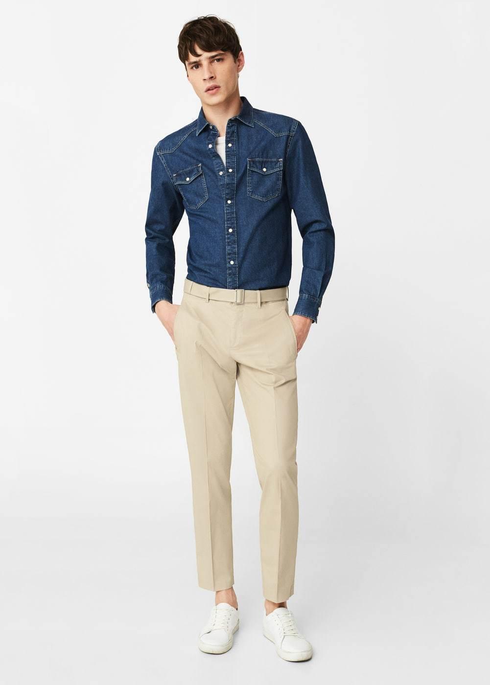 Famoso Come indossare pantaloni beige: 691 modi per indossare pantaloni  CK81