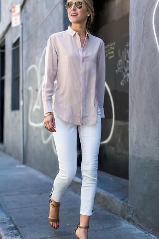 Camicia beige di Le Temps Des Cerises