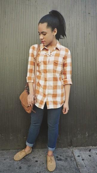 Camicia arancione di Junarose