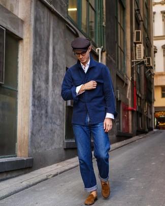 Come indossare e abbinare jeans blu scuro (1260 foto)   Moda