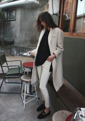 Cappotto bianco di French Connection