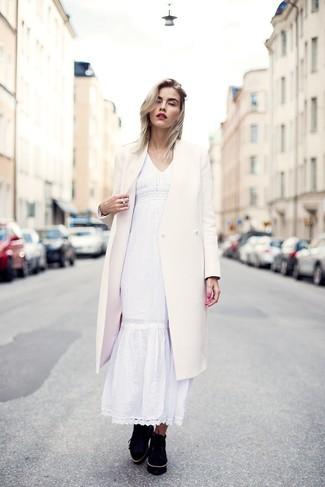 Come indossare un vestito estivo bianco (13 foto)  89bd0c5a6d8