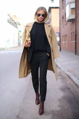Pantaloni skinny neri di A Gold E