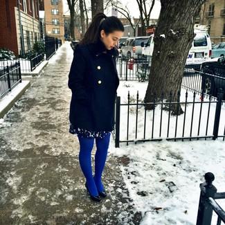 Cappotto blu scuro di Cinque