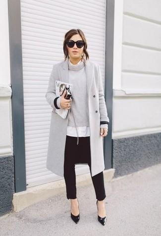 Cappotto grigio di Sandwich