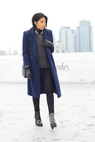 Cappotto blu scuro di s.Oliver