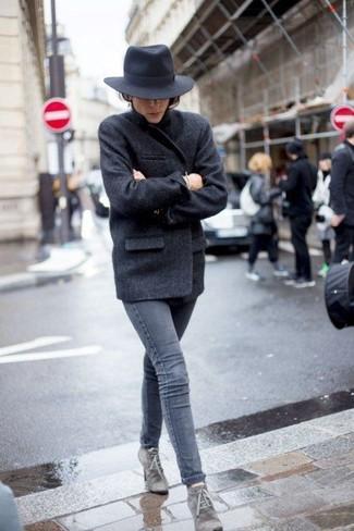 Cappotto grigio scuro di Derhy