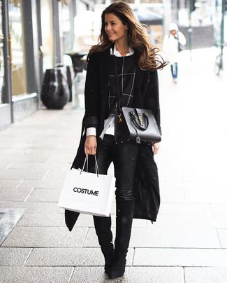 Cappotto nero di Amber & June