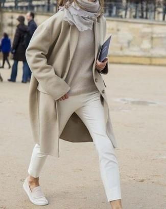 Cappotto beige di Cinque