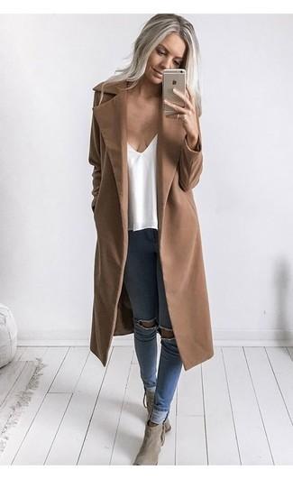 Cappotto marrone chiaro di Cinque