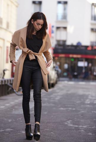 Cappotto marrone chiaro di Y.a.s