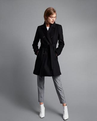 Cappotto nero di Omer