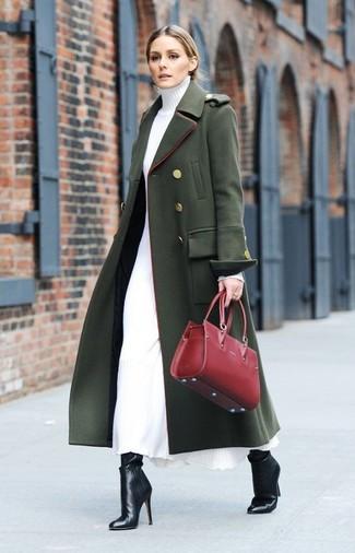Come indossare  cappotto verde scuro 03199e08477