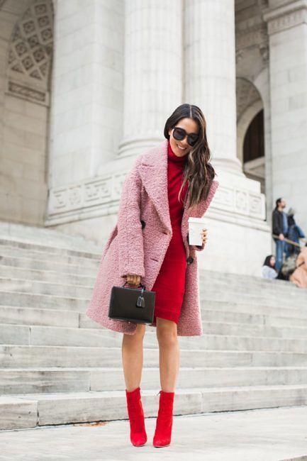 Look alla moda per donna  Cappotto rosa dd27f6130fde