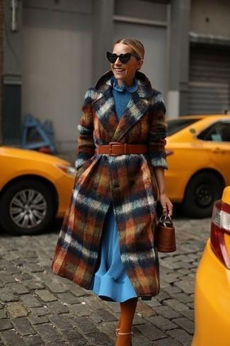 3 outfit per abbinare un cappotto a quadri | FASHIOLA