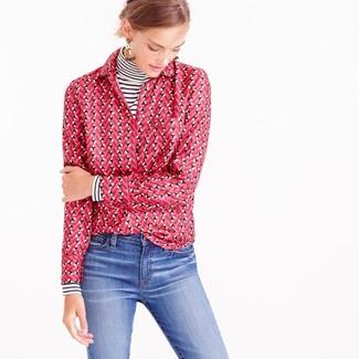 Camicia rosa di Tommy Hilfiger