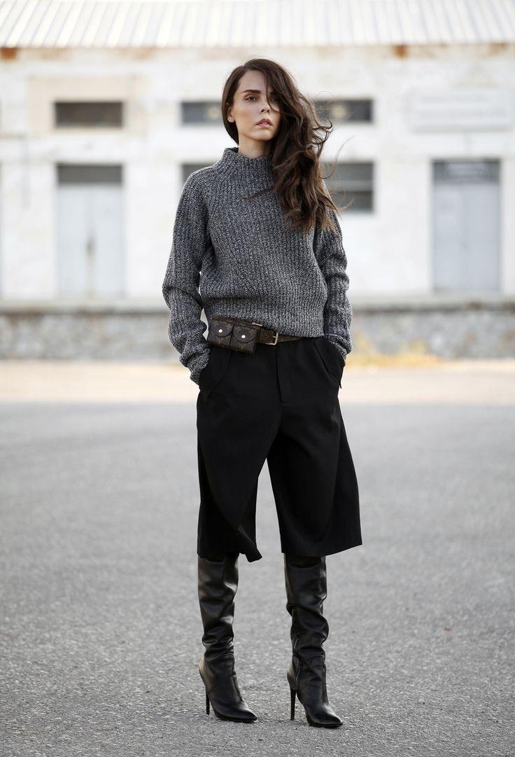 quality design e8bb7 da122 Quale gonna pantalone indossare con stivali al ginocchio in ...
