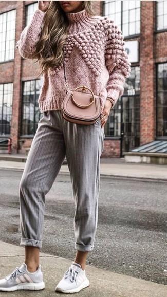 ef99a6d95a Come indossare scarpe sportive grigie (70 foto) | Moda donna | Lookastic
