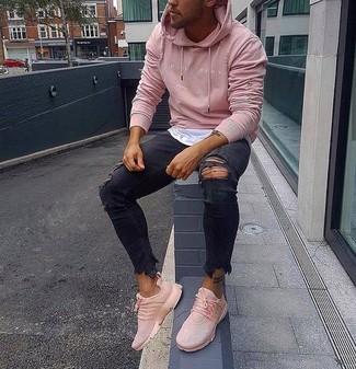 b9162b1e69 Come indossare scarpe sportive rosa (4 foto) | Moda uomo | Lookastic