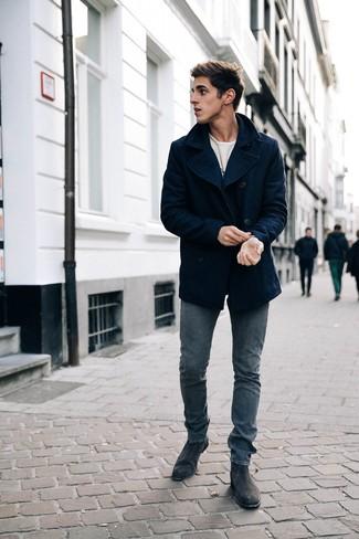 new concept 81302 15f6a Come indossare e abbinare una giacca da marinaio blu (74 ...