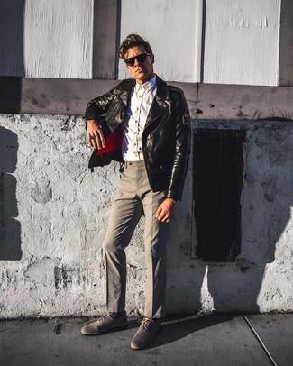 competitive price 806ab 0fb06 Come indossare e abbinare una giacca da moto con pantaloni ...