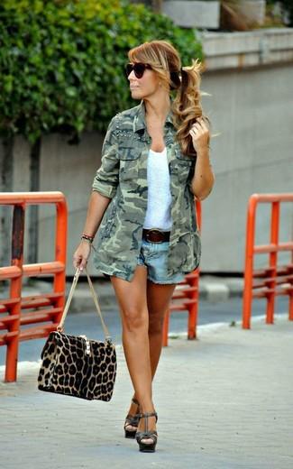 Come indossare accessori leopardati beige (178 foto)  fd26d95c4b5b