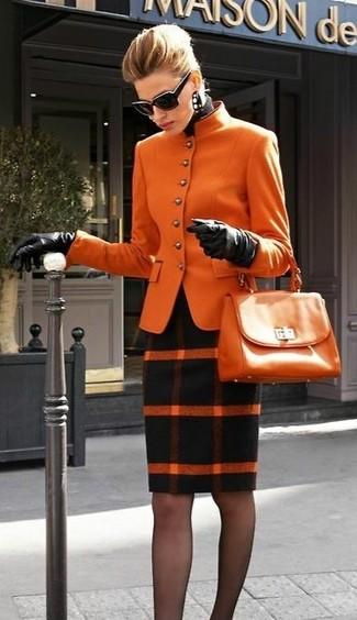 Giacca arancione di Vaude