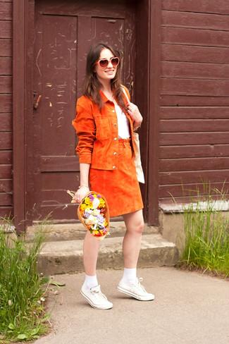 Giacca arancione di Jako