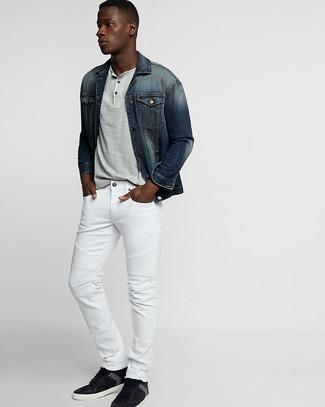 Abbinare Come Uomo Bianchi Jeans I YIfmb76gyv