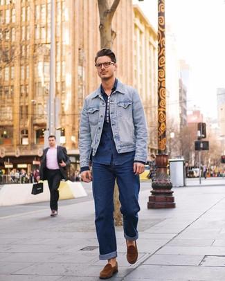 quality design 86c0b 636dc Come indossare e abbinare una giacca di jeans (661 foto ...