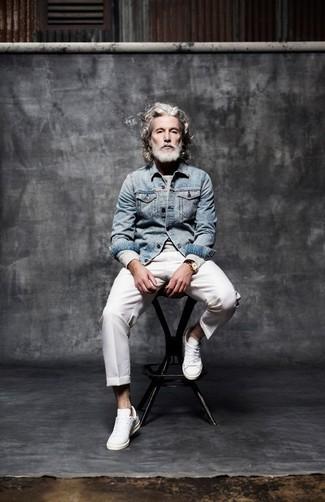 3344d27d88 Giacca di jeans azzurra di Levi's