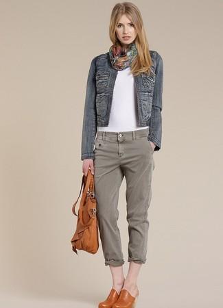 Giacca di jeans blu scuro di Cache Cache