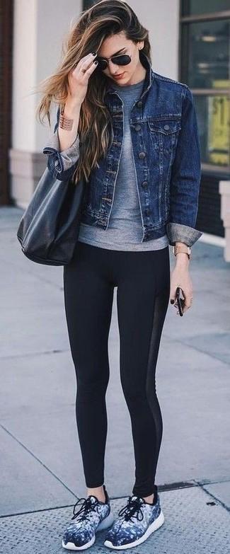 Giacca di jeans blu scuro di Tom Tailor