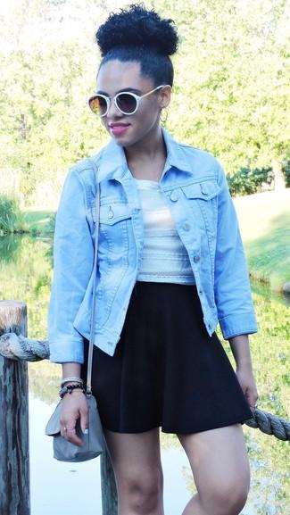 Giacca di jeans azzurra di Levi's